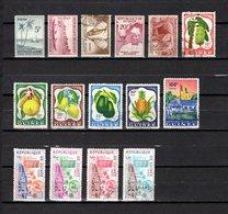 Guinea   1959  .-   Y&T   Nº    11/15-16/20-22-23/26 - República De Guinea (1958-...)
