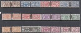 Italy PP 48-59 1945 Parcel Post, Mint Hinged - 4. 1944-45 Social Republic