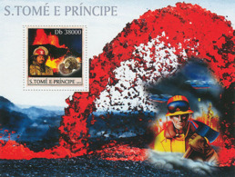 Sao Tome 2003  Volcanoes , Minerals & Fire Enginers - Sao Tome And Principe