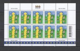 I1150 2000 ESTONIA EUROPA CEPT YOUNG & FUTURE CHILDREN STARS 1SH MNH - Europa-CEPT
