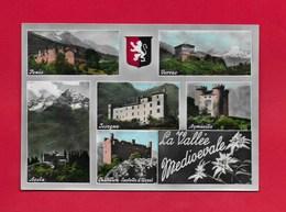 CARTOLINA NV ITALIA - LA VALLEE MEDIOEVALE - Vedutine Multivue - 10 X 15 - Non Classificati