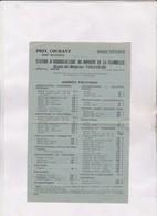 CATALOGUE PRIX STATION D ARBORICULTURE DU DOMAINE DE LA FLAMBELLE A TOULOUSE,( Saison 1945/1946) - Agriculture