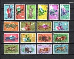 Guinea   1962  .-   Y&T   Nº    93/104-105/110 - República De Guinea (1958-...)