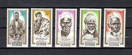 Guinea   1962  .-   Y&T   Nº    115/119   *    ( C/charniere ) - República De Guinea (1958-...)