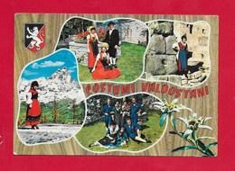 CARTOLINA VG ITALIA - COSTUMI VALDOSTANI - Cervinia Gressoney Aosta St. Vincent - 10 X 15 - ANN. 1969 - Costumi