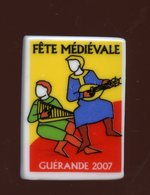 """FEVE - """"PERSO"""" - FETE MÉDIEVALE  GUÉRANDE 2007 - 44 LOIRE-ATLANTIQUE - LE FOURNIL DU PAYS BLANC - Hadas (sorpresas)"""