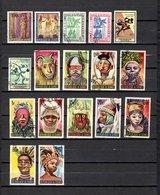 Guinea   1964-65  .-   Y&T   Nº    208-211-215/216-220/221-223/233 - República De Guinea (1958-...)