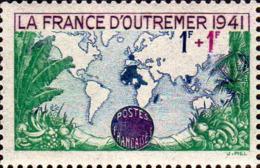 France Poste N** Yv: 503 Mi:536 La France D'Outre-mer - France