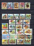 Guinea   1966  .-   Y&T   Nº    255/259-260/264-272-273/282-284/285-287/292 - República De Guinea (1958-...)