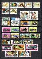 Guinea   1966-67  .-   Y&T   Nº    293/299-300/303-304/306-308/312-316/325 - República De Guinea (1958-...)