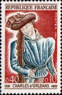 France Poste N** Yv:1445 Mi 1503 Yv:0,6 Euro Charles D'Orléans Poète - France