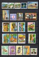 Guinea   1967-68  .-   Y&T   Nº    326/329-330-332-343-345-354-355/362-363/366-371 - República De Guinea (1958-...)