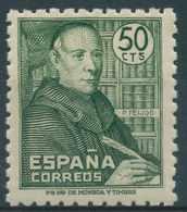 España 1947 - Edifil 1011 MNH - Padre Benito J. Feijoo - 1931-Today: 2nd Rep - ... Juan Carlos I