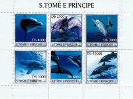 Sao Tome 2003 Fauna Dolphins - Sao Tome And Principe