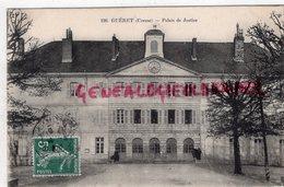 23-GUERET-PALAIS JUSTICE- A C. QUERE STENOGRAPHE COURRIER  DU CENTRE LIMOGES 1908- STENO - Guéret