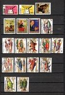 Guinea   1970-71  .-   Y&T   Nº    419/420-423/424-426/427-428/439 - República De Guinea (1958-...)