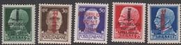 Italy-Italian Social Republic S 490-495 1944 Overprinted, Mint Never Hinged - 4. 1944-45 Social Republic