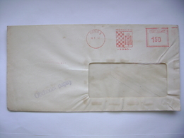Czechoslovakia Cover 1949 Meter Stamp Freistempel MORAGRO Brno (agricultural Company, Corn) - Tschechoslowakei/CSSR
