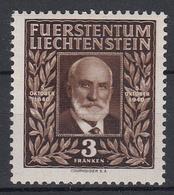 LIECHTENSTEIN - Michel - 1940 - Nr 191 - MH* - Liechtenstein