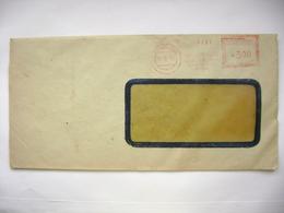 Czechoslovakia Cover 1949 Meter Stamp Freistempel PRAHA Ustredi Pro Hospodareni Se Zemedelskymi Vyrobky Presidium - Tschechoslowakei/CSSR