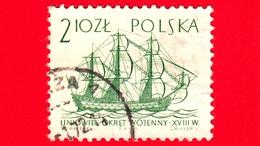 POLONIA - Usato - 1964 - Imbarcazione - Barche A Vela - Nave Di Linea - XVIII Sec. 2.10 Zl - 1944-.... Repubblica