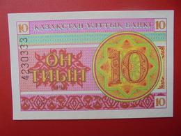 KAZAKHSTAN 10 TYIN 1993 PEU CIRCULER/NEUF - Kazakhstan