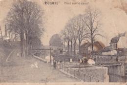 Herstal Pont Sur Le Canal Circulée En 1923 - Herstal