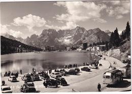 Lago Di Misurina: CITROËN TRACTION AVANT, 2x VW 1200 KÄFER/COX, MERCEDES 170 V, OPEL OLYMPIA REKORD, FIAT 500C BELVEDERE - Voitures De Tourisme