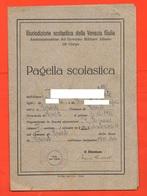 Pagella Scuola Trieste Governo Militare Alleato 13° Corpo Pagella Scolastica 1945 - 46 - Diploma & School Reports