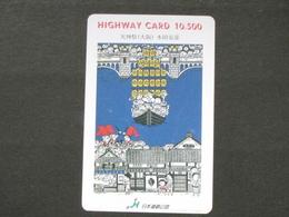 JAPAN HIGHWAY PREPAIDCARD Y 10.500 - FANTASY - Giappone