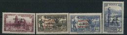 1938 Costa D'Avorio, Soprastampati, Serie Completa Nuova (*) Linguellata - Costa D'Avorio (1892-1944)