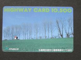 JAPAN HIGHWAY PREPAIDCARD Y 10.500 - LANDSCAPE - Giappone