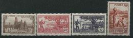 1944 Costa D'Avorio, Pittorica, Serie Completa Nuova (*) Linguellata - Costa D'Avorio (1892-1944)