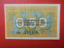 LITUANIE 0,50 TALONAS 1991 PEU CIRCULER/NEUF - Litouwen