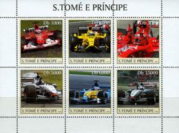 Sao Tome 2003 Formula I , Racing Car - Sao Tome And Principe