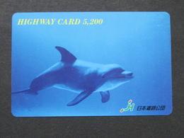 JAPAN HIGHWAY PREPAIDCARD Y 5.200 - FISH - Giappone