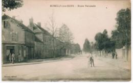 P057 - ROMILLY SUR SEINE - Route Nationale - Romilly-sur-Seine