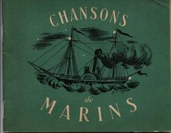 CHANSONS DE MARINS 1941 ETAT FRANCAIS PROPAGANDE VICHY MARECHAL PETAIN MARINE NATIONALE - 1939-45
