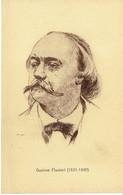 Portrait De Gustave Flaubert (1821-1880) Ed. Maison D'Art, Rue Du Midi, Bruxelles (non écrite) - Ecrivains