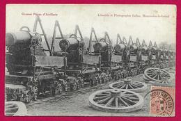 CPA Militaria - Grosses Pièces D'Artillerie - Material