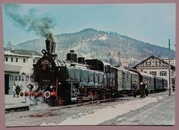 DAMPFLOKOMOTIVE (Ex OBB 93-1332) DES BAYER. LOCALBAHN-VEREIN - Historical Train, Lokomotive  - Nv - Treni