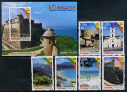 Cuba 2010 / Tourism Landscapes Castles MNH Turismo Paisajes Castillos / Cu11514  C5-16 - Cuba