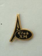 PIN'S  CITROËN - CLUB XM - Citroën