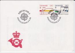 Denmark 1985 FDC Europa CEPT (G99-41) - Europa-CEPT