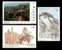 ESPAÑA 2000 - PATRIMONIO DE LA HUMANIDAD - Edifil Nº 3729-3731 - YVERT 3296-3298 - Sin Clasificación