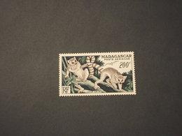 MADAGASCAR - P.A. 1954 SCIMMIE 200 F. - NUOVO(++) - Madagascar (1889-1960)