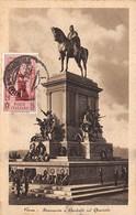 Italie.n°57715.roma.monument A Garibaldi Sul Gianicolo.carte Maximum - Roma