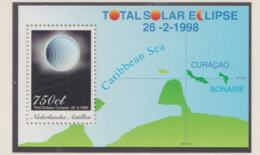 Nederlandse Antillen 1998 Total Solar Eclipse Souvenir Sheet  MNH/** (H38) - Astrologie