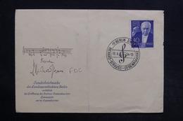 ALLEMAGNE - Enveloppe FDC  En 1954 - Musique - Strauss  - L 30750 - FDC: Sobres