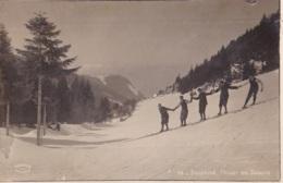 Photo Carte Du Dauphinée L'Hiver Les Skieurs - Grenoble
